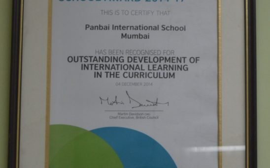 BC connect young people with learning opportunities and creative ideas from the UK.PBIS received award for outstanding development of international learning in curriculum 2014-17.